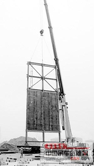 天津百万吨乙烯延迟焦化装置加热炉炉体钢结构吊装